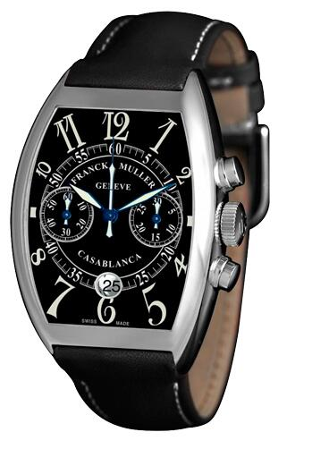 FRANCK MULLER 8885 C CC DT Black Dial Casablanca Chronograph Replica Watch